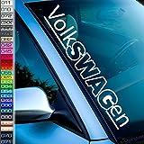 Volkswagen Frontscheibenaufkleber Auto-Aufkleber GTI Typ 15 GTD Golf Polo 8n 6r rc R-Line Passat Auto-Tuningsticker Set