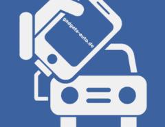 Verbindung Handy-Auto Grafik