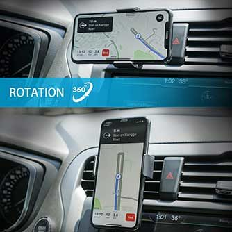 Handy-Halterung Lüftung
